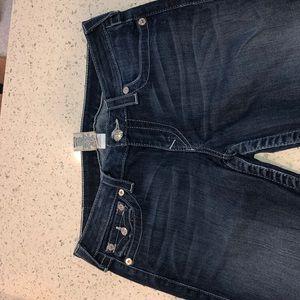 True Religion Swarovski Accent Jeans